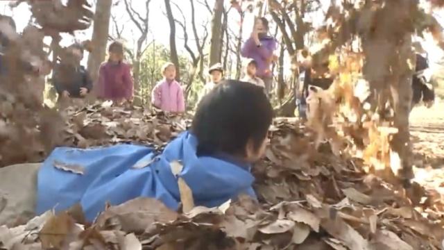 这家日本幼儿园没有教室,野外上课