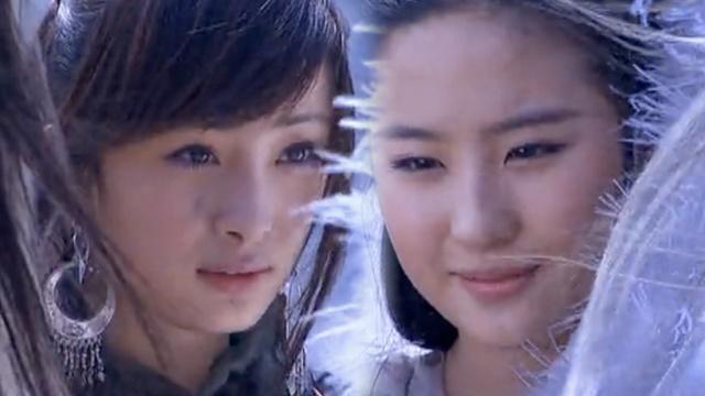 谁更美?杨幂13年前曾与刘亦菲对戏