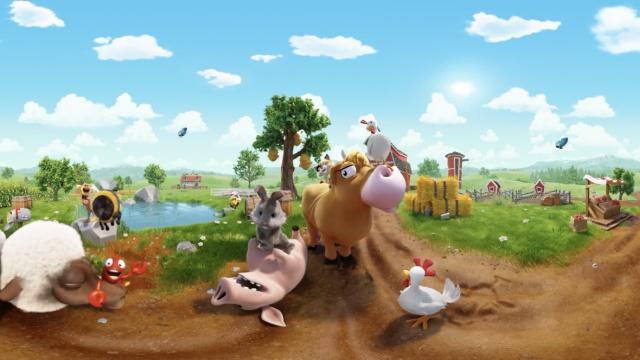 萌翻了!一群小动物等着你去农场呢