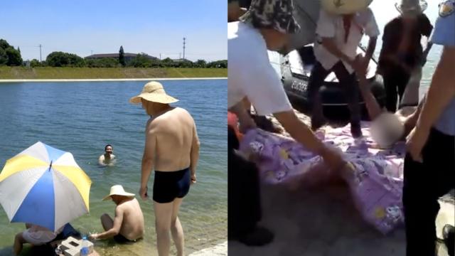 男子野泳溺亡,打捞现场竟还有泳者