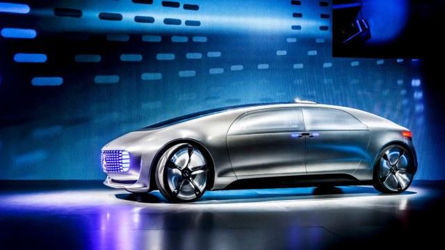 从奔驰眼中展望私家车的未来