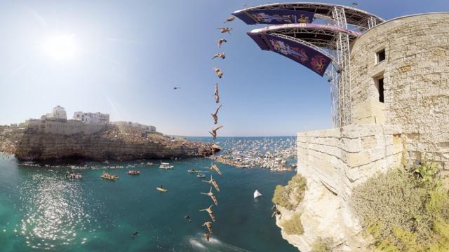 VR带你看最刺激的意大利悬崖跳水