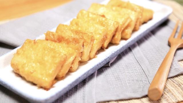 豆腐这么煎,脆嫩味巨鲜!