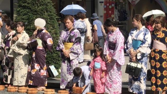 别样日本泼水节,满屏都是浴衣姐姐