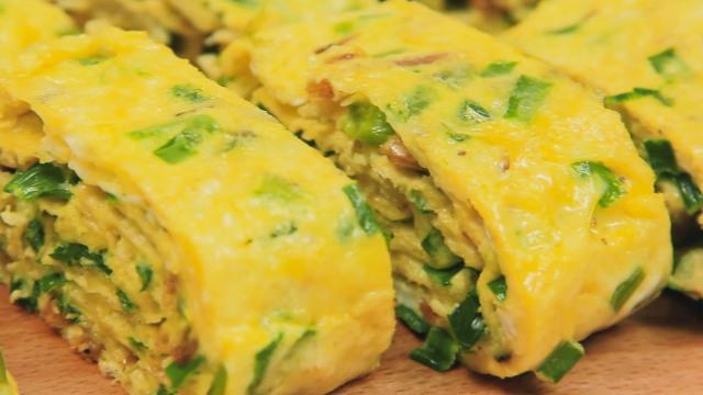韭菜和蛋新做法,上桌分分钟吃光!