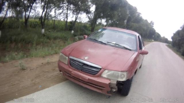 700元网购报废车,司机遇查弃车就逃