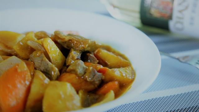 传统泰式咖喱牛腱肉