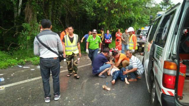 中国游客泰国遇车祸,