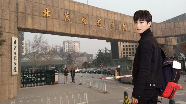 直播:开学季,王俊凯北电新生报到