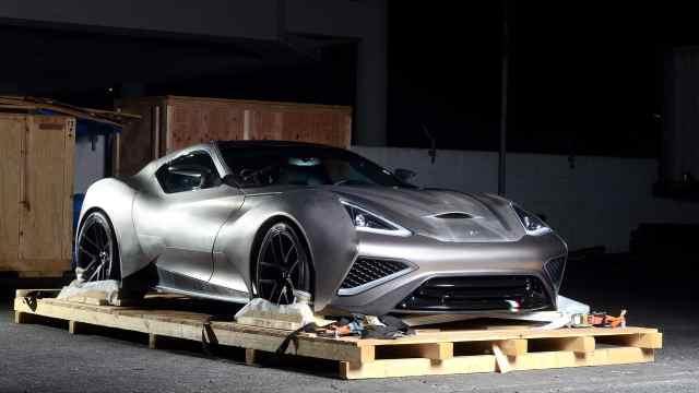 世界上第一辆完整钛金属构造的超跑