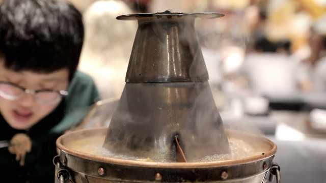 贴秋膘!老北京涮羊肉,标配铜锅麻酱