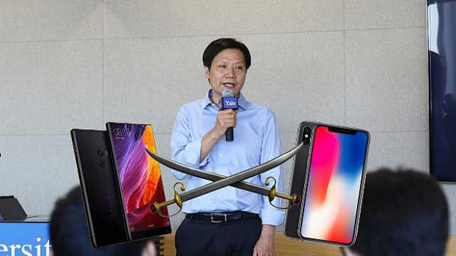 雷军:iPhoneX发布后小米卖得更好了