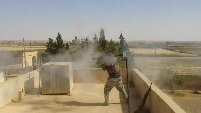 直击叙利亚前线:IS地雷地道战失败