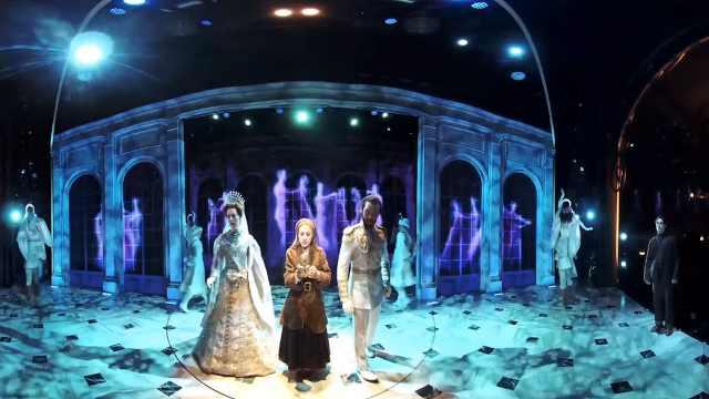 来,看看百老汇音乐剧《真假公主》