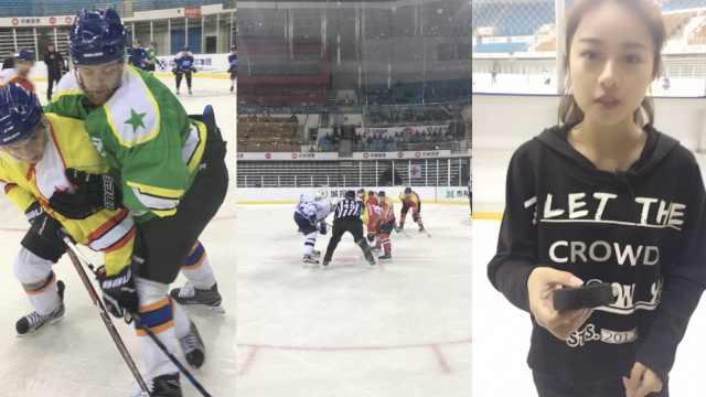 吉林冰球队征战俄超,训练赛超有趣