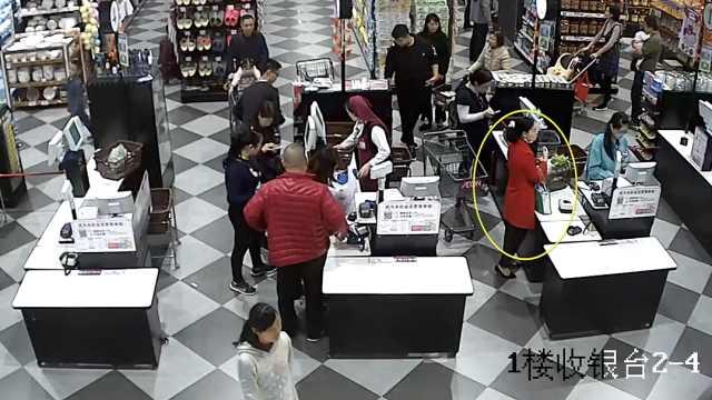 前员工找到超市漏洞,明目张胆行窃