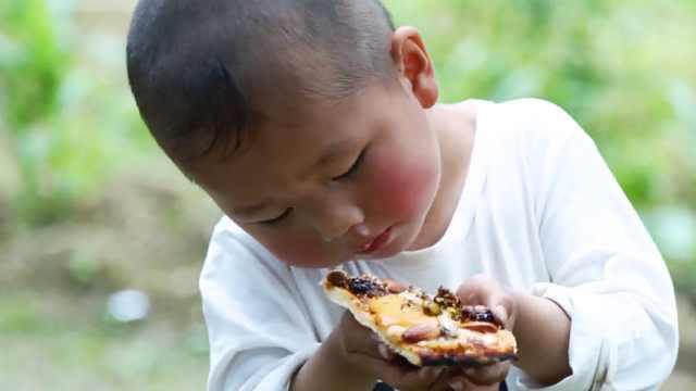 舌尖上的乡村美食制作——南瓜披萨