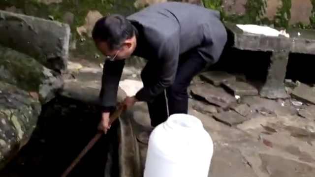 高校藏山泉,市民争做水的搬运工
