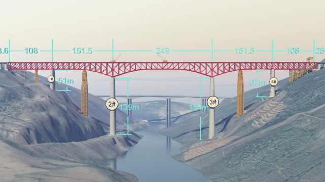 154米!中国这座桥将有世界第一高墩