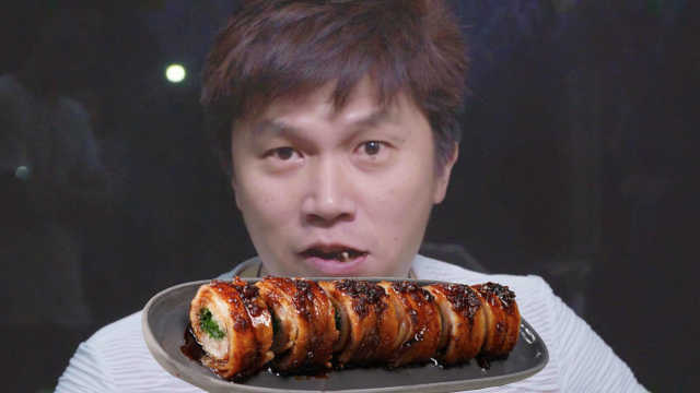 你敢试嘛!这份猪肉卷里裹了半把葱