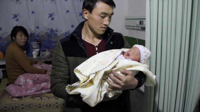 农村夫妻生下兔唇宝宝:不想他受苦