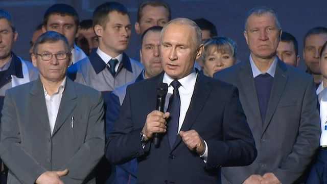 普京昨晚宣布:参加2018总统大选