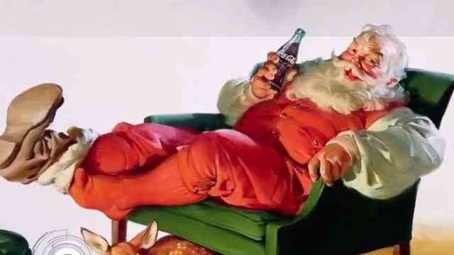 圣诞老人是戴绿帽子?