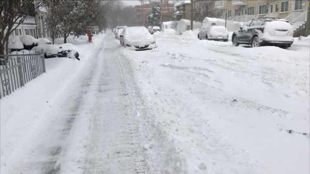 -50℃!加拿大暴风雪拍客冻坏肚子