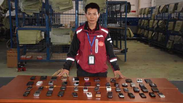 快递员打坏40部手机,老板奖他1辆车
