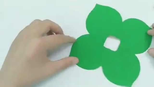 剪纸第3课——四角折剪