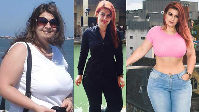 任性!暴瘦70斤后不开心,她吃回胖子