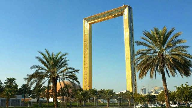 直播:迪拜3亿造黄金框,被说偷来的