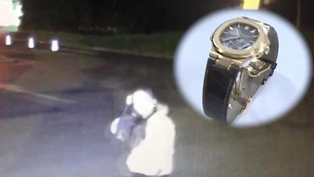 他和女网友一夜情后,24万手表被盗