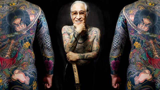 直播:最危险艺术,替山口组老大纹身