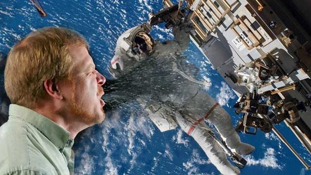 在太空中打喷嚏会发生什么可怕的事