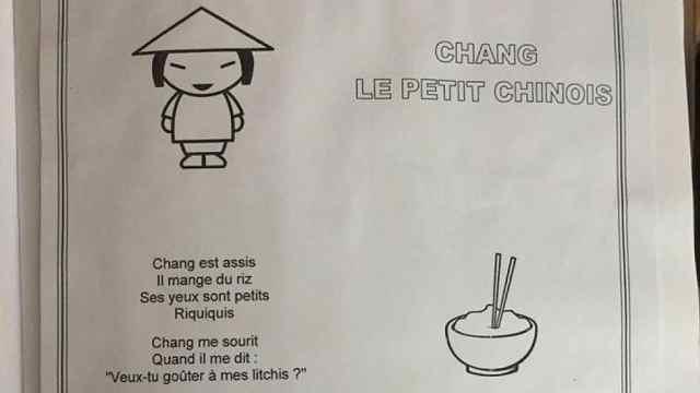 法国幼儿园竟教授辱华儿歌十余年!