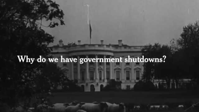 1分钟详解:美政府关门原因及影响