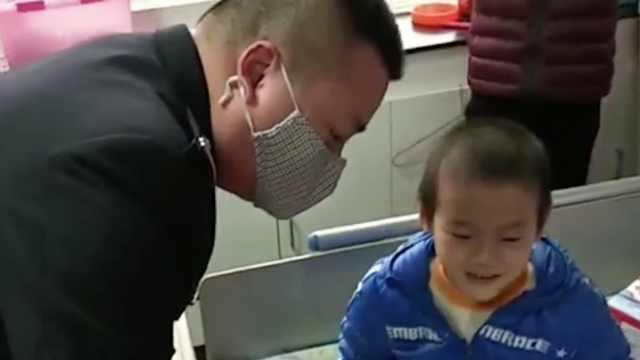 民警认领白血病患儿心愿