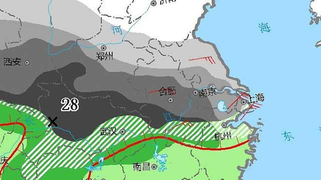 上海已进入雨雪区!积雪将达5厘米