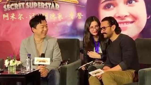 黄渤自称中国最帅,阿米尔·汗大笑