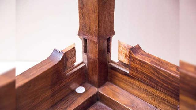 古代做木工不用钉子,怎么做到的?