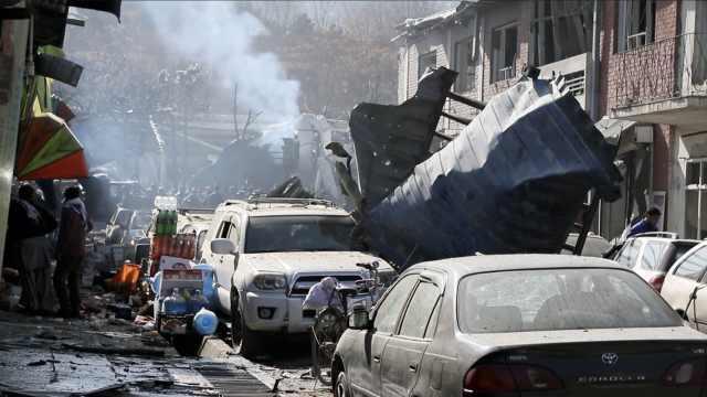 阿富汗爆炸致63死,靠近欧盟领事馆