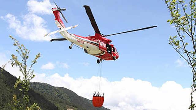 台湾一救援直升机疑坠海,6人失联