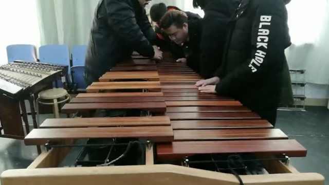 他带罕见乐器参加艺考,称价值10万