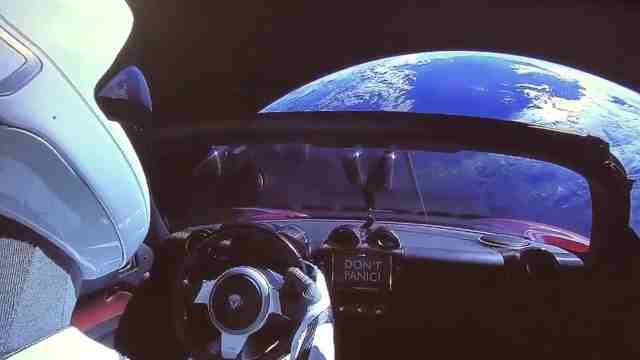 科技周报:别慌!太空飘来神秘超跑