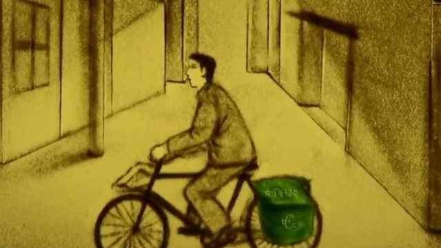 邮递员,记忆中的一抹绿