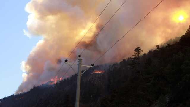 雅江森林火灾超72小时,系人为失火