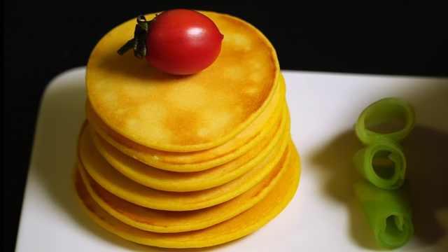 早餐玉米饼,营养美味,简单快捷!