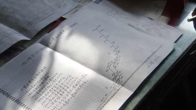 退休老人建家庭档案,绘工资曲线图