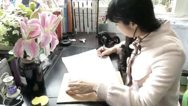 班主任手写信赠学生:我满心是爱